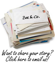 Want to share your story? Click here to email us!
