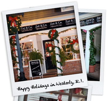 Happy Holidays in Westerly, R.I.